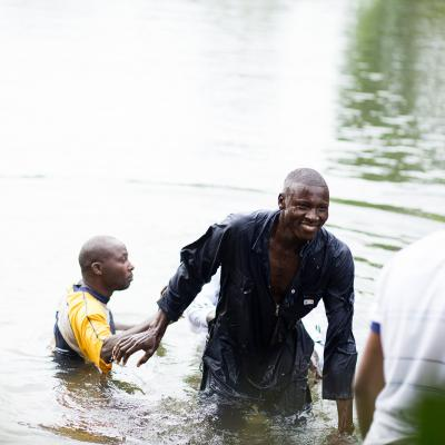Joy of baptism